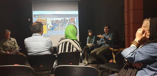 مراسم رونمایی از سایت انجمن مستندسازان